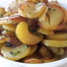 Foto zu Käpt'n Selmer Stube · Fährhaus Sylt: tolle Bratkartoffeln