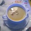 Rahmsuppe von der Räucherforelle (3,95 €)