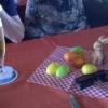 Österliche Tischdeko