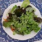 Foto zu Inselwirt: Salat mit Avocadodressing