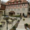 Restaurant, Gastgarten & Teil des neuen Treppenaufgangs