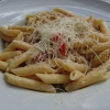 Penne mit Curry und Hähnchen - der italienische Klassiker