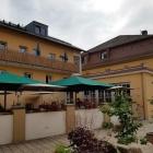 Foto zu Brauereigasthof Drei Kronen: 27.06.21. Terassenbereich