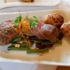 Foto zu Restaurant Weber: Lammrücken mit Bohnen