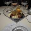 Vanilleeis mit gerösteten Kürbiskernen und steirischem Kürbiskernöl