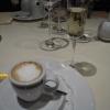 Espresso macchiato und Grappa