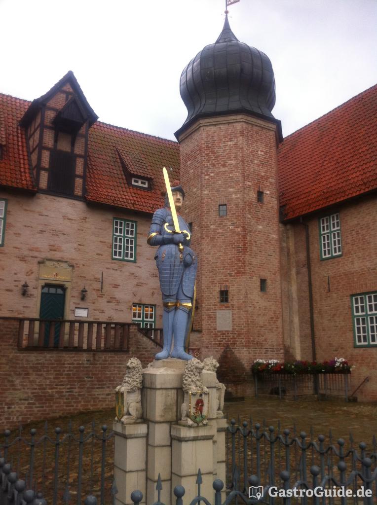 Burgschänke in der Burg Bederkesa Restaurant, Ausflugsziel in 27624 ...