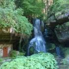 Foto zu Gasthof im Hotel Lichtenhainer Wasserfall: mit betätigter Spülung (alle 30 Minuten)