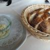 Gruß: Brot mit Kräuterbutter