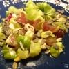 Rosenkohlblättersalat