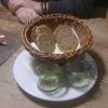 Gruß - Brot, Öl, Salz