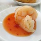 Foto zu Krone · Pfälzer Stube: Garnele auf süßer Chilisauce