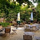 Foto zu Landgasthof Kastanienbaum: Der Garten