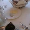 Butter, Frischkäse, Brot und Öl