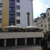 Blick auf das Restaurant von der Dieburger Straße