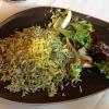 Gewürzter Reis mit Salat