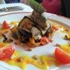 Gegrilltes provenzalisches Gemüse mit Ziegenfrischkäse
