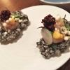 Tapiokaknusper mit Fjörd-Shrimps, Kohlrabi & Meerrettich