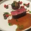 Beef aus der Präfektur Kagoshima Spitzpaprika / M'Hamsa / Schwarzer Knoblauch