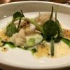 Coquille Saint Jacques [Dieppe] | Grüne Kräuter & Gemüse | Fischeier | Koji