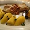 Gebratenes Forellenfilet mit Salzkartoffeln