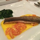 Foto zu Restaurant Beesten: 14.2.20 Gang 3 Rheinenser Forelle