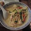 Grünes Curry mit Hühnerfleisch