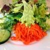 Salat zu den Käsespätzlen