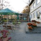 Foto zu Restaurant in der Burg Vlotho: Aussenbereich