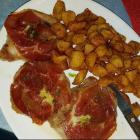 Foto zu club galicia: gegrilltes Schweinerückenfilet mit Käse und Schinken