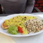 Foto zu Philoxenia: Bunte Putenbrust mit Reis