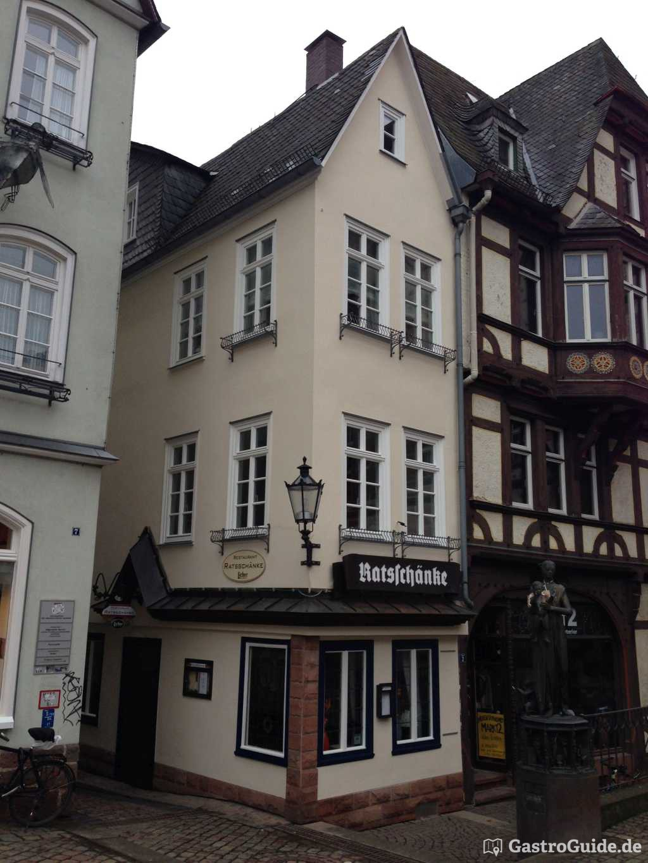 Ratsschänke Restaurant, Biergarten, Ausflugsziel in 35037 Marburg