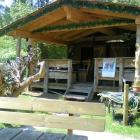 Foto zu Gaststätte Südtiroler Dorfstubn: Gartenlaube