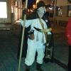 Unser Nachtwächter bei der Führung durch die Altstadt