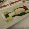 Steak vom weißen Heilbutt / Rahmspinat / Schloßkartoffeln