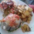 Foto zu Galao Café Bar: Lecker dieser Burger