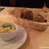 3 Sorten Brot mit Currydip