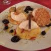 Karamellisierte Ananas mit Amarettinimousse
