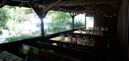 Fotoalbum: Laube gegenüber des Gasthauses