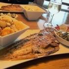 Foto zu Gosch · Alte Bootshalle: Sezunge/Bratkart./Salat