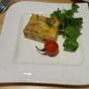 amuse: Zwiebelkuchen, Feldsalat