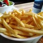 Foto zu Bootshaus Rappenwört: gut gesalzene Pommes