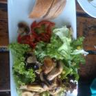 Foto zu Hotel Munding: Salat mit Pilzen