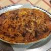 Lasagne zum Preis von 8 Euro