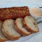 Foto zu Hotelweingut Barth: Brot mit Tomatenfrischkäse