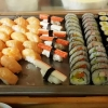 Sushi am Buffet