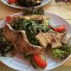 Salat mit Ferkelchen