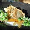 Samosas von der Erbse
