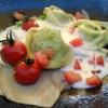 Spinat-Ricotta-Tortellini mit Kalbszunge