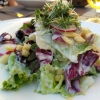 Grüner Beilagensalat